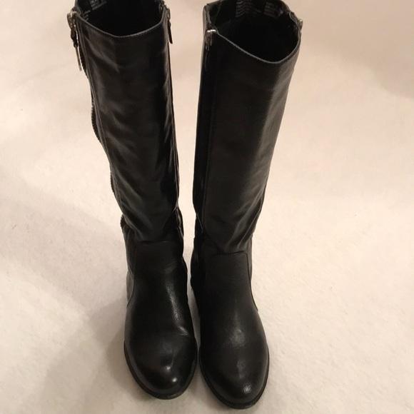 Kohls Shoes   Black Boots By Kohls